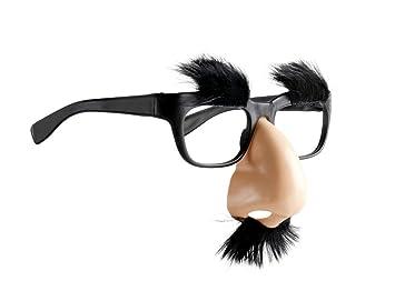 Guirca Groucho Marx Barbie Déguisement Lunettes avec Nez, Noir et Rose, 3984 031f97a15a54