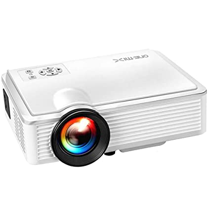 Amazoncom One Mix 2400 Lumens Mini Video Projector 130 Display