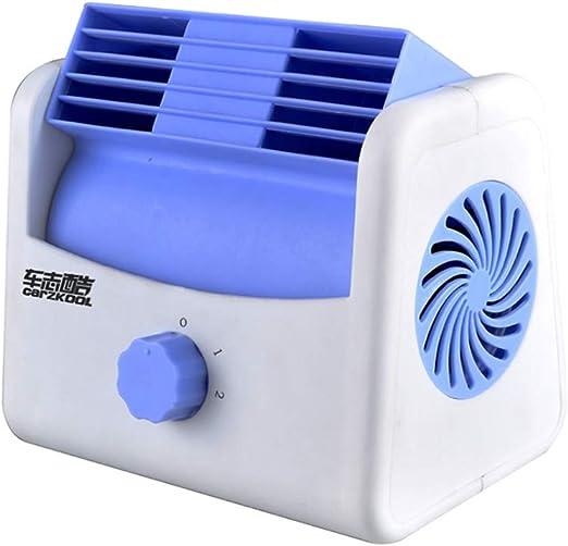 Fan Fan Coche 12v / 24v Universal Ventilador Silencioso, ABS Mini ...