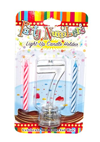 number seven candle - 2