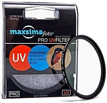 Maxsima Uv Filter 62 Mm Für Tamron 18 200 Mm F3 5 6 3 Kamera