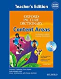 img - for Oxford Picture Dictionary for the Content Areas Teacher's Edition with Lesson Plan CD Pack (Oxford Picture Dictionary for the Content Areas 2e) book / textbook / text book