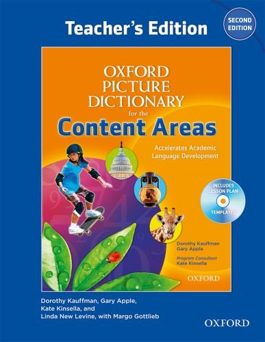 Oxford Picture Dictionary for the Content Areas Teacher's for sale  Delivered anywhere in USA