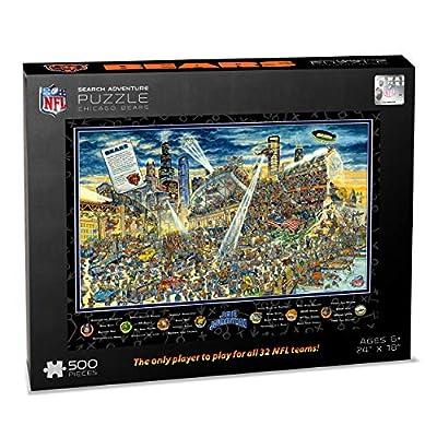 NFL Chicago Bears Joe Journeyman Puzzle - 500-piece : Sports & Outdoors