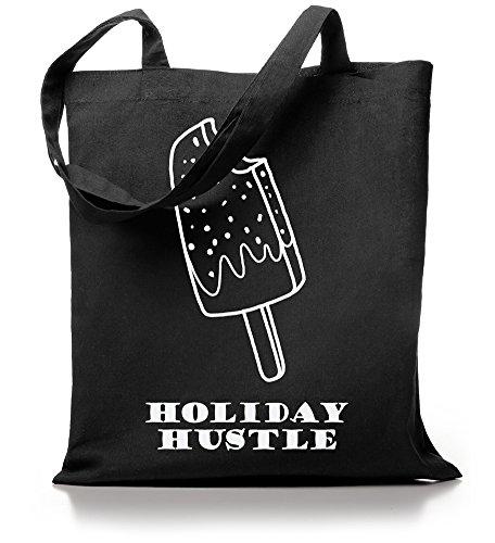 Kane Grey - Holiday Hustle - Jutebeutel Schwarz