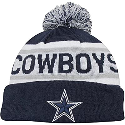 New Era Knit Dallas Cowboys Biggest Fan Redux Sport Knit Winter Stocking Beanie Pom Hat Cap NFL