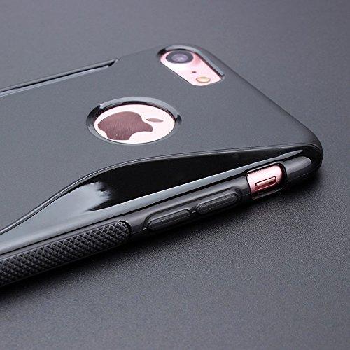 BlackBerry Curve 9220 / 9320 Caso Elegante - Hot Rosa S-Line TPU Gel Funda Case Para BlackBerry Curve 9320 9220 - thinkmobile S-Line Weiss