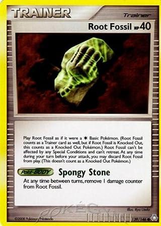 Pokemon Diamond & Pearl Legends Awakened Single Card Root Fossil ...