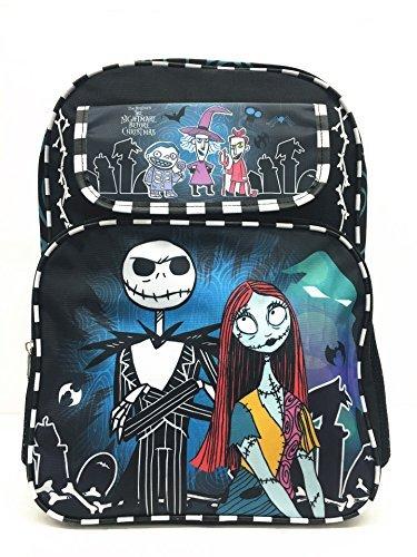 Disney Nightmare Before Christmas Jack and Sally Large School Backpack -