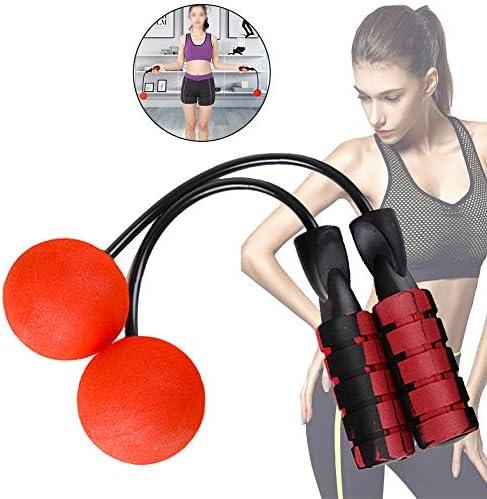 rote Kinder hong Wu Seillos Cordless Rope Skipping Wireless-springseil Ohne Seil Seillose Springseil F/ür Indoor//Outdoor-Fitness