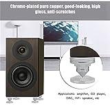 Yosoo- 4 Pcs HiFi Speaker Isolation Spikes AMP DAC