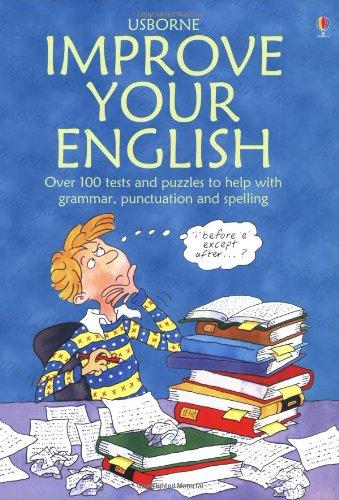 Workbook christmas grammar worksheets : Usborne Improve Your English (Test Yourself Series): Rachel Bladon ...