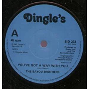 """YOU'VE GOT A WAY WITH YOU 7 INCH (7"""" VINYL 45) UK DINGLES 1982"""