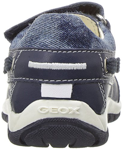 Geox Boys' Baby Shaaxboy 23 Loafer, Navy, 25 BR/8.5 M US Toddler by Geox (Image #2)