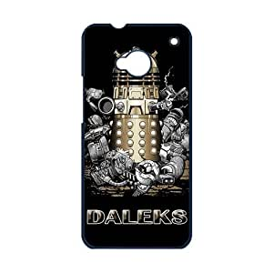 Doctor Who Daleks In Film And TV Slim Fit Case Charming Outlook Protector for HTC One M7