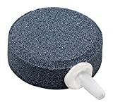 AquaPR Gray Mineral Stone & Plastic 1.6 x 0.6 Aquarium Bubble Generator 1 Piece, Greay One Size