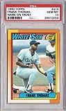 1990 Topps Baseball #414 Frank Thomas Rookie Card Graded PSA 10 Gem Mint