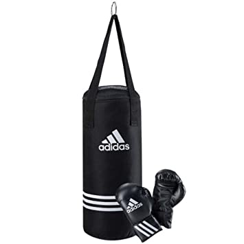c24798c79 adidas Ensemble de boxe junior Noir  Amazon.fr  Sports et Loisirs