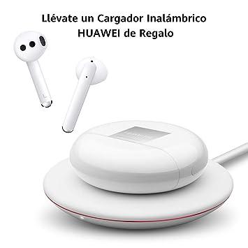 Huawei Freebuds 3 - Auriculares Inalámbricos con Cancelación de Ruido Activa (Conexión Bluetooth Ultrarrápida, Altavoz de 14 mm, Carga Inalámbrica) ...
