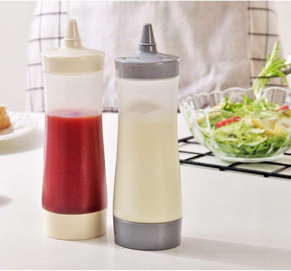 Tasquite - 3 Botellas de plástico Transparente para condimentos ...