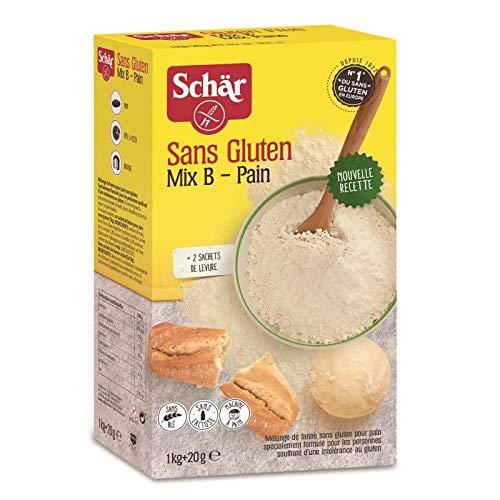 Schär - Mezcla De Harina Empanada Para Pan Sin Gluten 1.2Kg ...