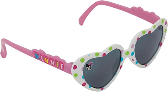 Minnie Mouse Heart shaped Sunglasses