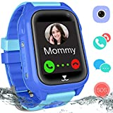 Waterproof GPS Tracker Watch for Boys Girls - IP67 Water Resistant Kids Smartwatches