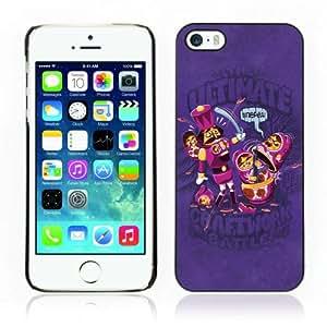 CQ Tech Phone Accessory: Carcasa Trasera Rigida Aluminio PARA Apple iPhone 5 5S - Matryoshka Battle