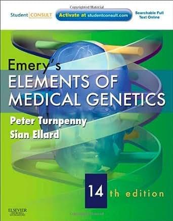 Amazon.com: Emery's Elements of Medical Genetics E-Book