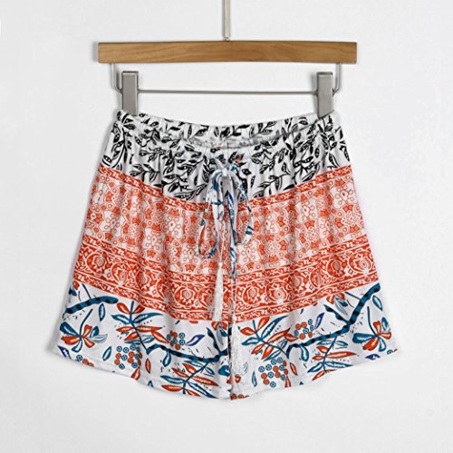 Pantaloni Pants Gaddrt Alta Orange Corti Hot Vita Donne Sexy S xl Estate Casual WrTRXTBg