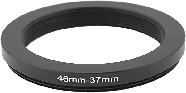 Camera 46mm Lens to 37mm Accessory Step Down Adapter Ring 46mm-37mm