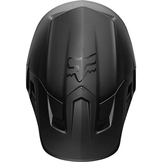 Fox 2019 V2 - Casco de Motocross para Adulto (Talla S, 55-56 cm), Color Negro Mate: Amazon.es: Deportes y aire libre