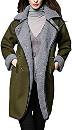 Amazon.com: Green - Wool & Blends / Wool & Pea Coats: Clothing