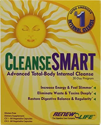 Renew Life CleanseSMARTTM Advanced Total-Body Internal Cleanse -- 1 Kit