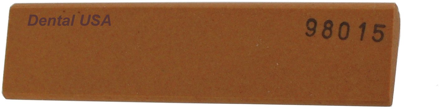 Dental USA 7423 Sharpening Stone Red 186A SLip AO FIN 4x1x7/16-3/16 by Dental USA