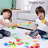 Yellow YUIO Children Fishing Toys Large net Fishing Plastic