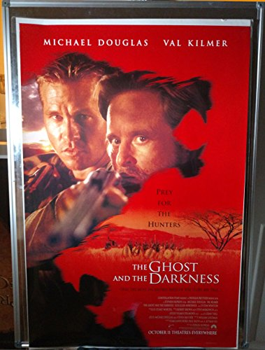 The Ghost and the Darkness Michael Douglas Val Kilmer Rolled Original Double Sided 27x40 Movie Poster 1999