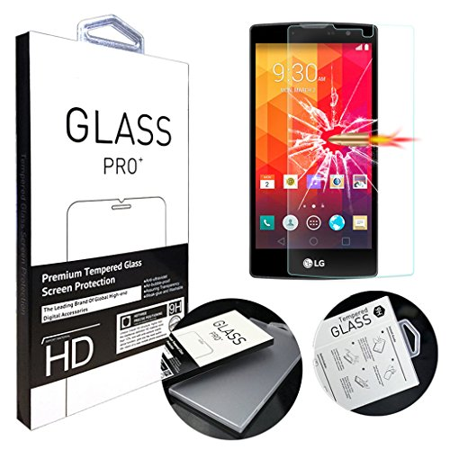 Tempered Glass For LG Magna (Clear) - 8