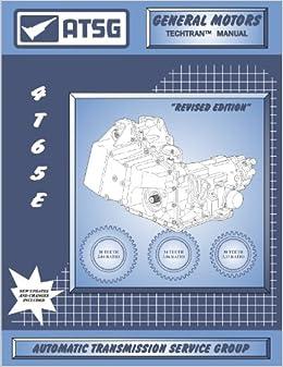 ATSG THM 4T65-E Techtran Manual: ATSG: Amazon com: Books