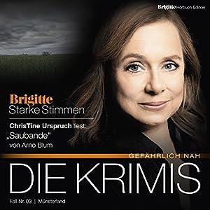 Saubande (Brigitte Edition Krimis - Gefährlich nah) Hörbuch