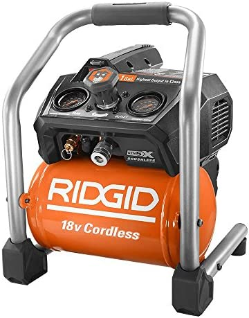 Ridgid R0230 1 Gal. 18-Volt Brushless Cordless Air Compressor Tool Only