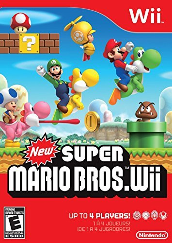 New Super Mario Bros - Nintendo Wii (World Edition) (Original Version)