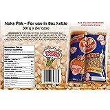 8oz NAKS PAK Popcorn Portion Pack with Coconut Oil - 24/Case