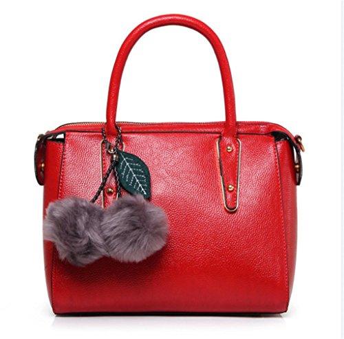 Messenger borsa NVBAO spalla Borsa Fashion personalità della Red Work signora della Shopping Bag borsa della singola Elegante qSBw87qFn