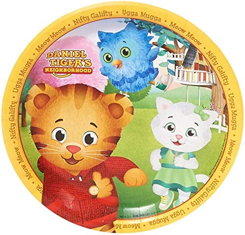Daniel Tiger Party Supplies - Dinner Plates (48)