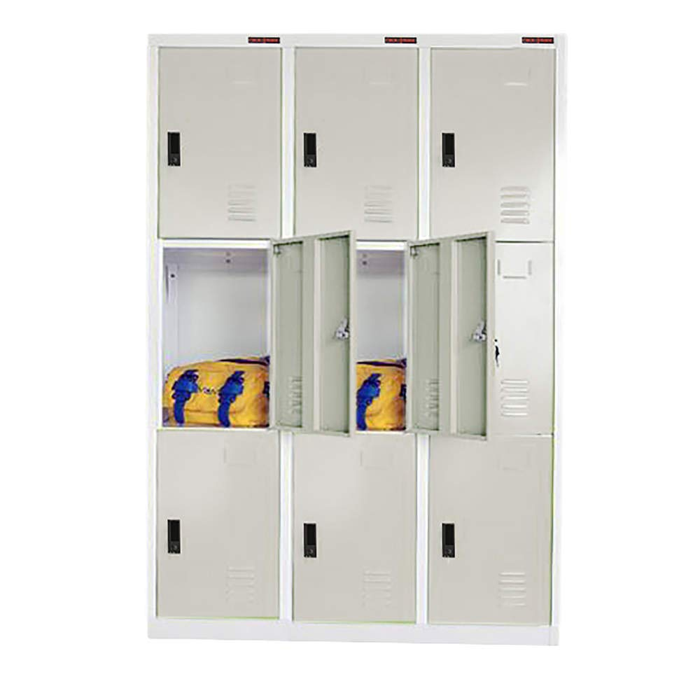 Casier m/étallique du 3 Module et 3 Porte 900 x 1800 x 500 mm RackMatic