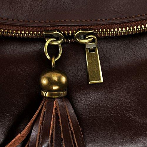 BAG petit cuir Main 72 souple Moyen Marron à Modèle heures Sac MY OH Rwfq5Ff