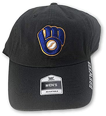 Fan Favorite Milwaukee Brewers Casual Adjustable Hat Grey