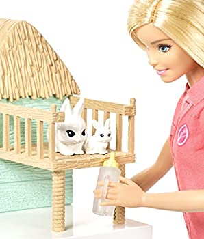 Barbie Animal Rescuer Doll & Playset 6