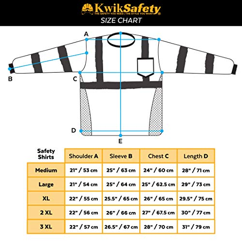 KwikSafety (Charlotte, NC) UNCLE WILLY'S WALL (Chest Pocket) Class 3 ANSI High Visibility Safety Shirt Fishbone Reflective Tape Construction Hi Vis Clothing Men Long Sleeve Camo Yellow Black 2XL by KwikSafety (Image #7)